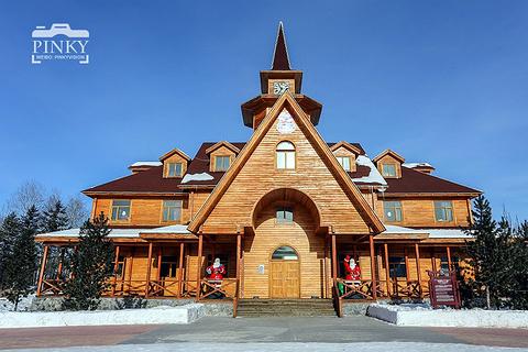 北极圣诞村的图片