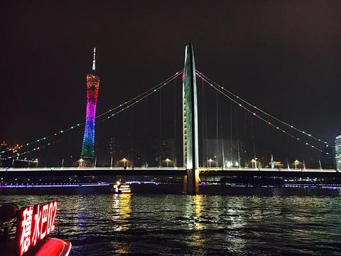 珠江夜游芳村码头