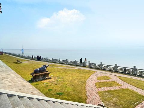 观潮胜地公园旅游景点图片