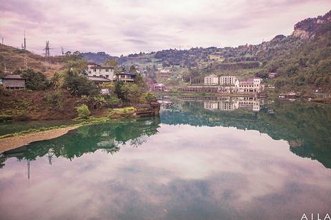 嘉阳桫椤湖旅游景区旅游景点攻略图