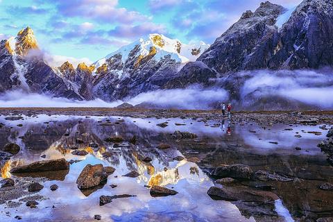喜马拉雅山脉的图片