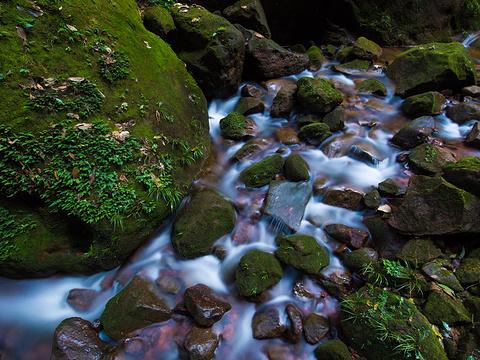 四洞沟景区旅游景点图片
