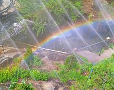 秦岭彩虹谷,不关风雨事,都能看彩虹!