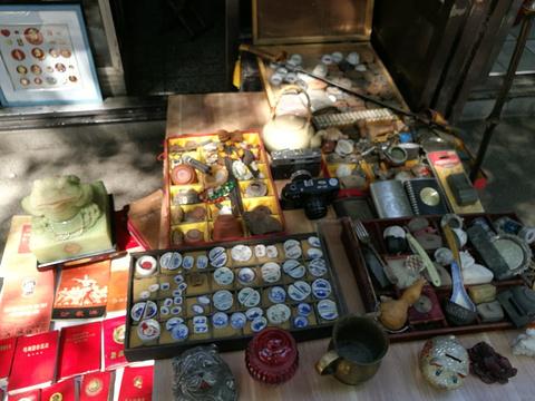沈阳道古物市场旅游景点攻略图