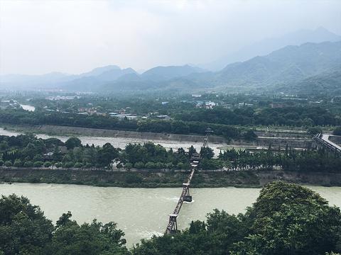 安澜索桥旅游景点图片