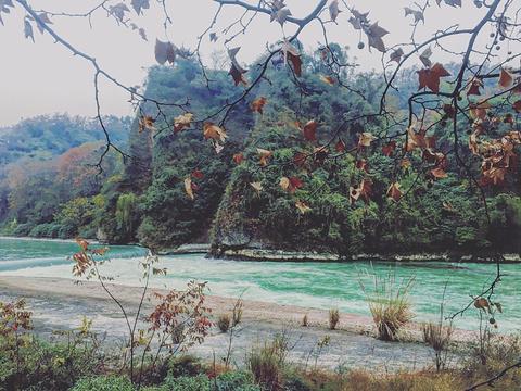 飞沙堰旅游景点图片