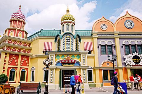 哈尔滨万达乐园的图片