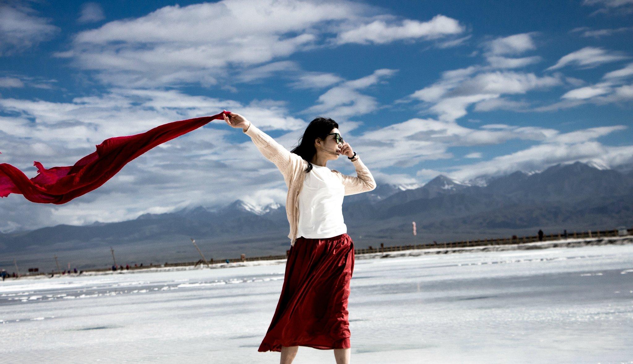 自驾青海湖 茶卡盐湖。最美的风景只在路上