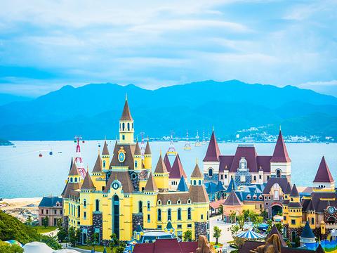 芽庄珍珠岛游乐园旅游景点图片