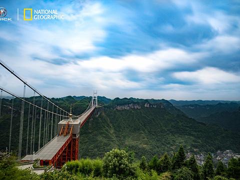 矮寨大桥旅游景点图片