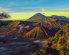 爪哇秘境:燃逝在火山灰烬中的岁月飞花