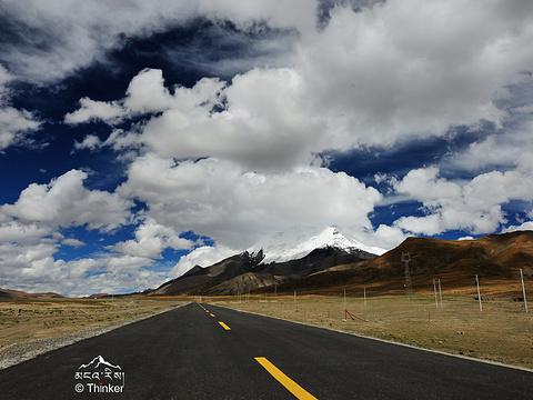 卡若拉冰川旅游景点图片