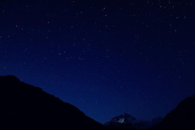 繁星满空图片