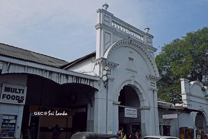 科伦坡火车站 图片