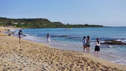 垦丁白沙湾海滩旅游景点攻略图