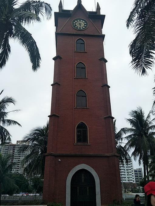 海口钟楼图片