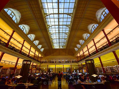 维多利亚州立图书馆旅游景点图片