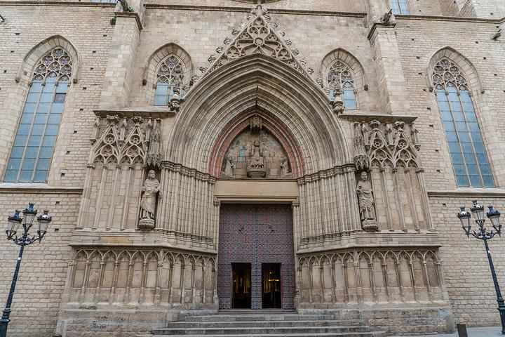 """""""所以这一天是巴塞罗那众景点串烧,先来个教堂三连击——海洋圣母教堂、巴塞罗那主教座堂和松树圣母教堂_海洋圣母教堂""""的评论图片"""