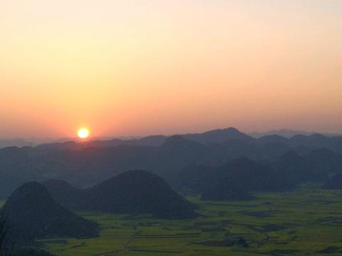 金鸡峰丛旅游景点攻略图