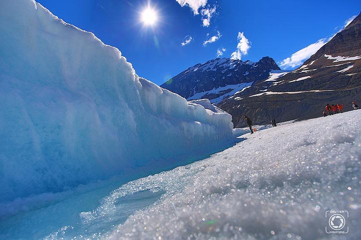 """""""另外天空步道本人感觉很一般,反正没有震撼到我;哥伦比亚冰原。过了冰原,山川更加壮阔_哥伦比亚冰原""""的评论图片"""