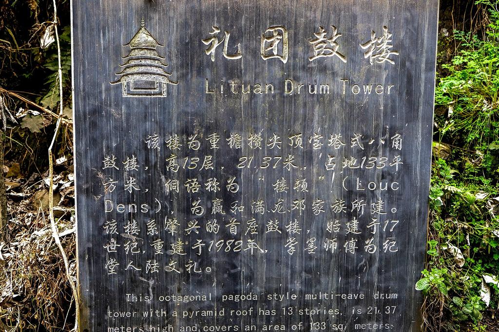肇兴侗寨旅游导图