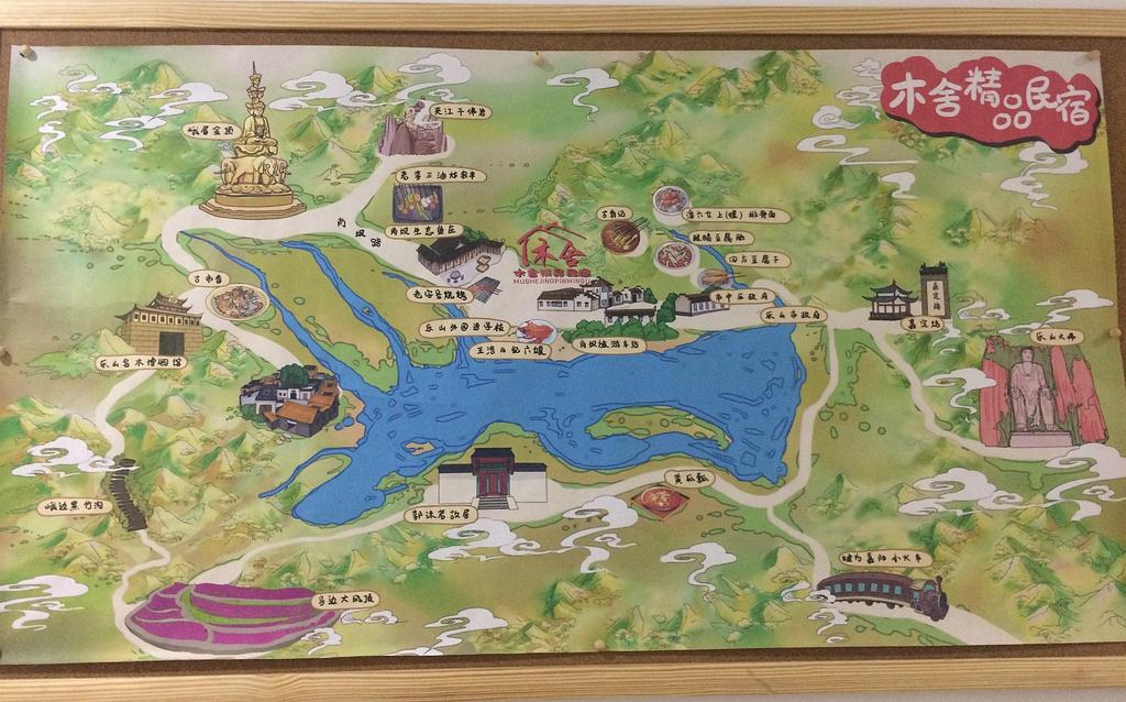 乐山大佛旅游导图