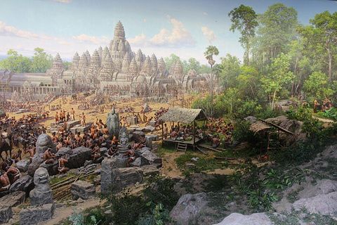 吴哥全景博物馆的图片