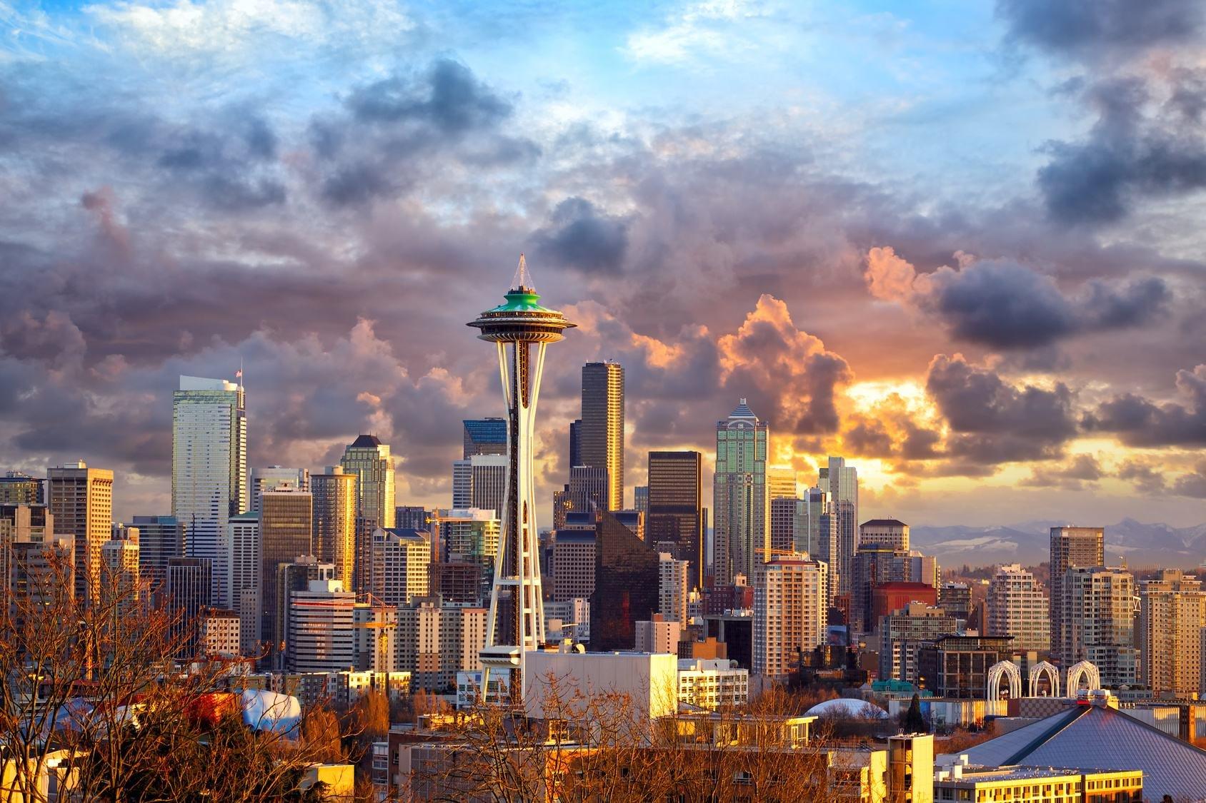 第一次出国遇见西雅图 过海关小心脏都要蹦出来