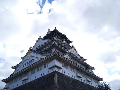 大阪城天守阁旅游景点攻略图