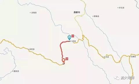八宿县旅游景点攻略图