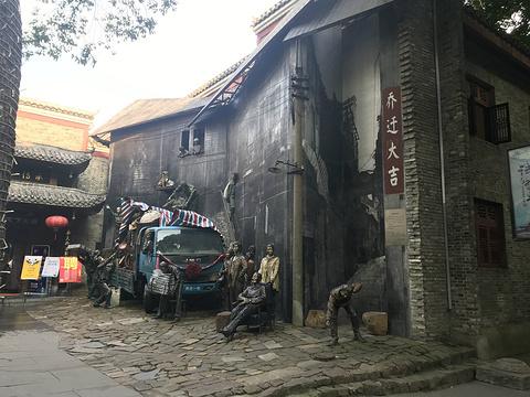 绳金塔美食街旅游景点攻略图