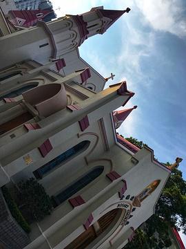 尖沙咀玫瑰堂旅游景点攻略图