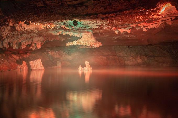 太极洞景区图片