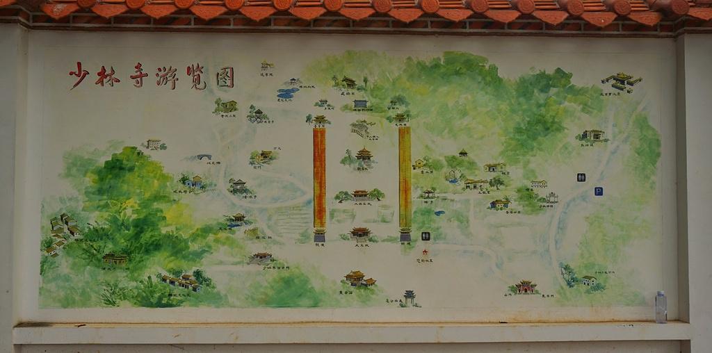 东禅少林寺旅游导图