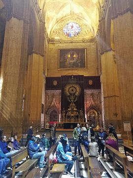塞维利亚大教堂主礼拜堂旅游景点攻略图