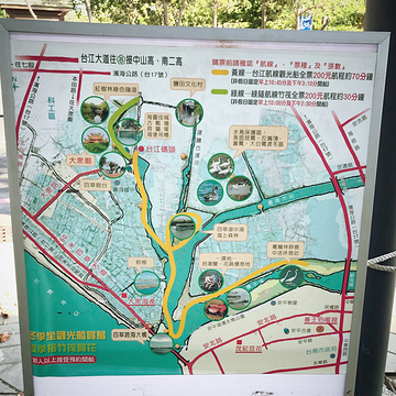 四草绿色隧道旅游景点攻略图