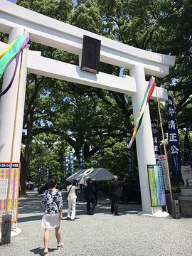 加藤神社旅游景点攻略图
