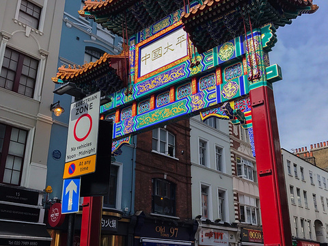 唐人街旅游景点图片