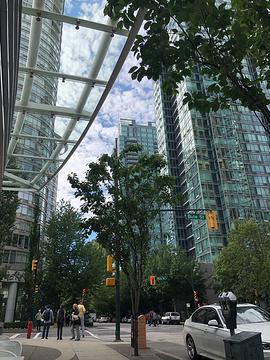 温哥华市中心旅游景点攻略图