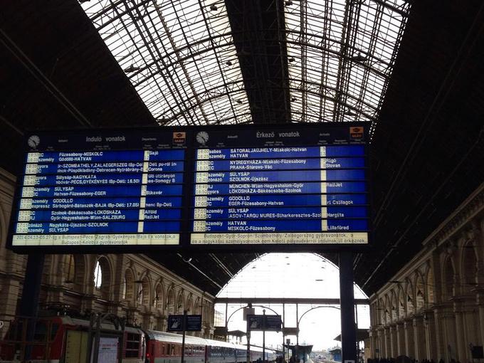 布达佩斯火车站图片