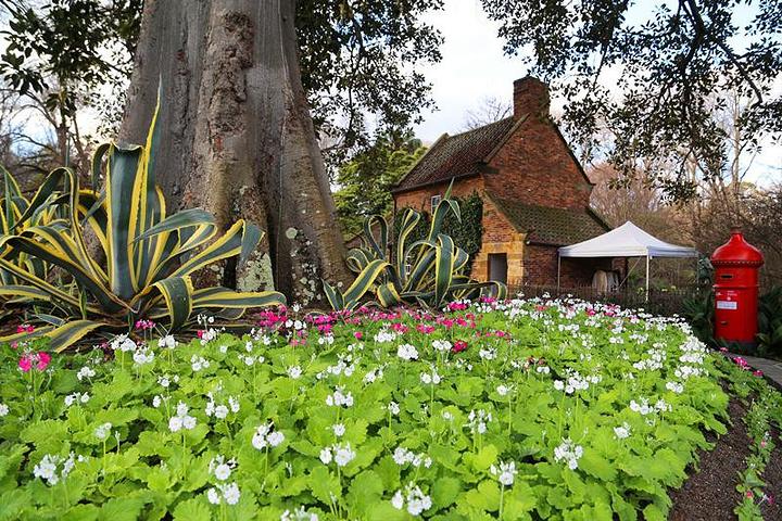 """""""库克船长的小屋位于墨尔本市中心的菲兹洛伊花园里_库克船长的小屋""""的评论图片"""