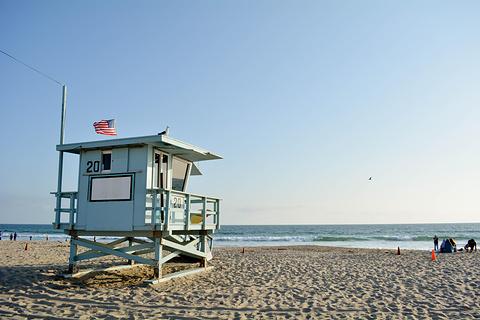 圣莫尼卡海滩的图片