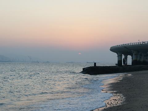 厦大白城沙滩旅游景点图片
