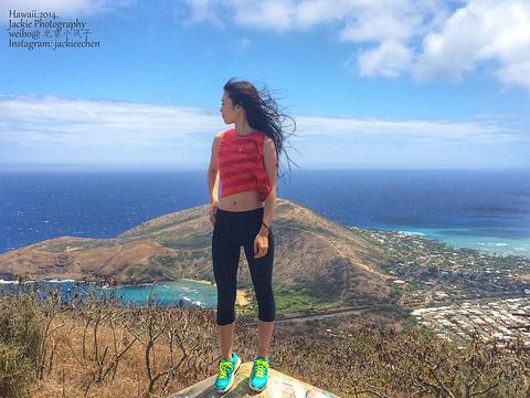 Koko Head Crater Trail Hike旅游景点攻略图