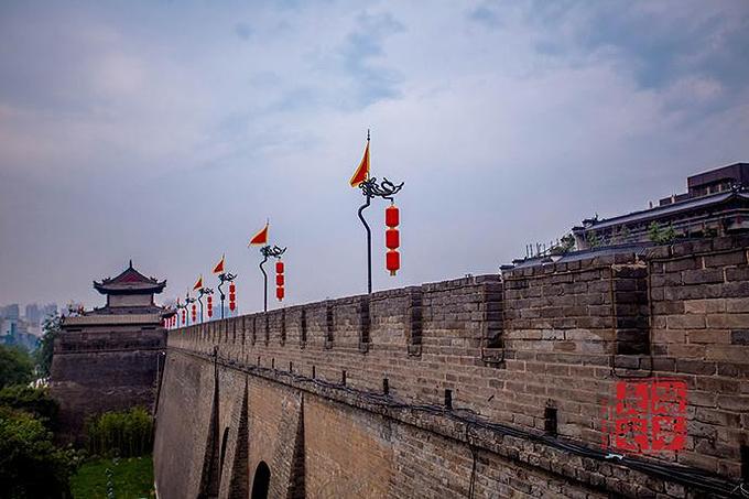 西安城墙图片