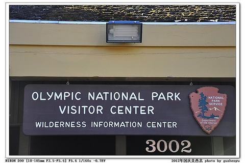 奥林匹克国家公园旅游景点攻略图