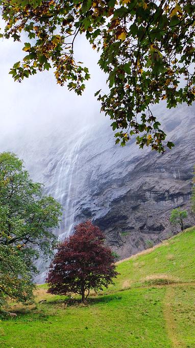 特里默尔巴赫瀑布群图片