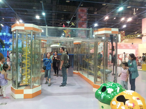 中国科技馆新馆旅游景点攻略图