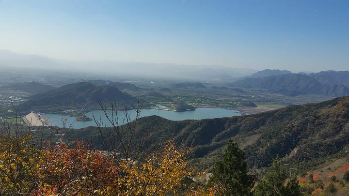 """""""二、景色蟒山公园的植被很多,里面的树木、花草都非常丰富,尤其是秋天去的时候,还可以看红叶_蟒山国家森林公园""""的评论图片"""