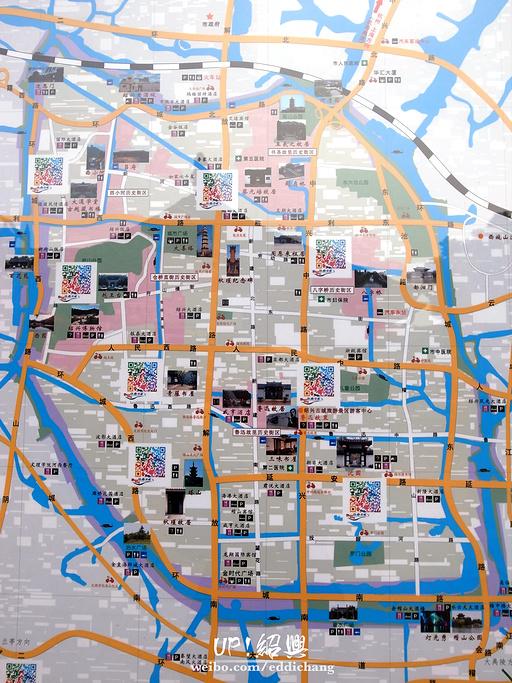 绍兴古城旅游导图